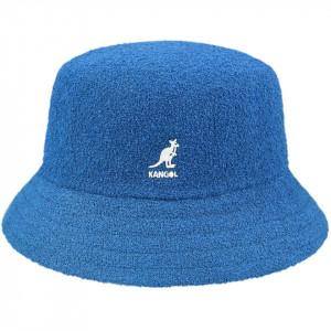 Palarie Kangol Bermuda Bucket Albastru