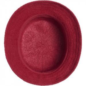 Palarie Kangol Bermuda Stripe Bucket Rosu 3
