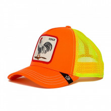 Sapca Goorin Brothers Trucker Electric Tamale Neon Orange