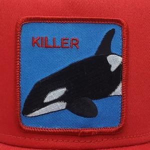 Sapca Goorin Brothers Trucker Killer Whale Rosu 2