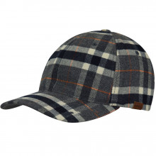 Sapca Kangol Pattern Flexfit Baseball Grey Plaid