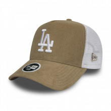 Sapca New Era Micro Cord Trucker Los Angeles Dodgers Maro Camel