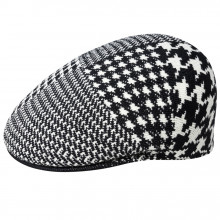 Basca Kangol Abstract Houndstooth 504 Negru