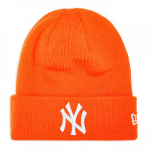 Caciula New Era League Essential Cuff New York Yankees Portocaliu