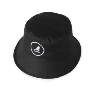 Palarie neagra Kangol Cotton Bucket 3