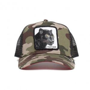 Sapca Goorin Brothers Trucker Black Panther, Camo 2