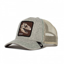 Sapca Goorin Brothers Trucker Bone Head Gri  2