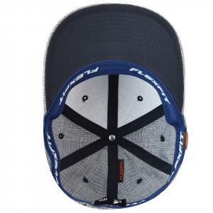 Sapca Kango Pattern Flexfit Baseball Check Navy 5