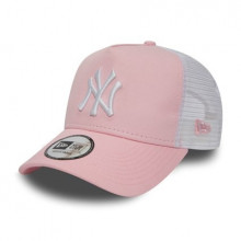 Sapca New Era Trucker New York Yankees PNK