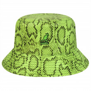 Palarie Kangol Snakeskin Bucket Verde