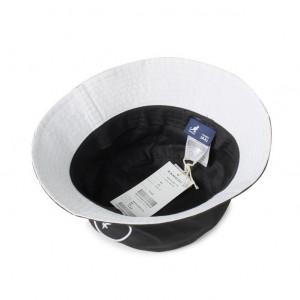 Palarie neagra Kangol Cotton Bucket 4