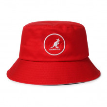 Palarie rosie Kangol Cotton Bucket