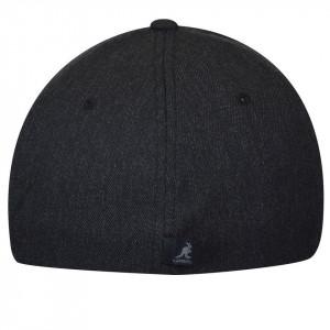 Sapca Kangol Wool Flexfit Baseball Dark Heather Grey 2