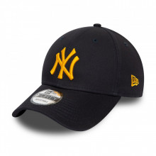 Sapca New Era 9forty Basic New York Yankees Bleumarin-Galben