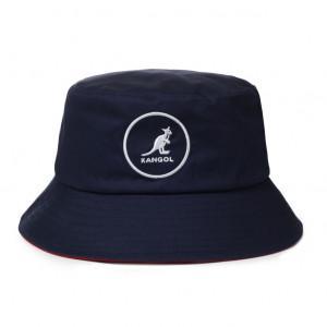 Kangol Cotton Bucket Fischerhut - Navy