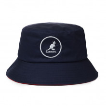 Palarie albastra Kangol Cotton Bucket
