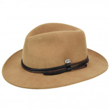Palarie Bailey of Hollywood Nelles LiteFelt Fedora Maro Camel