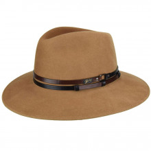 Palarie Bailey of Hollywood Stedman Elite Velour Fedora Camel