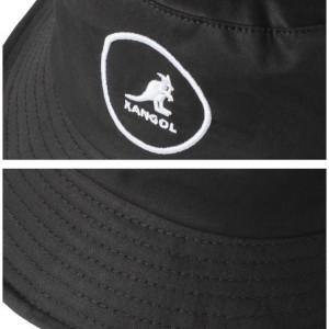 Palarie neagra Kangol Cotton Bucket 5