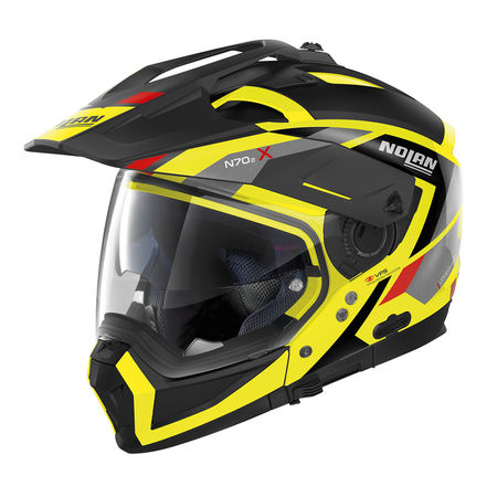 NOLAN - N70-2 X GRANDES ALPES - LED YELLOW