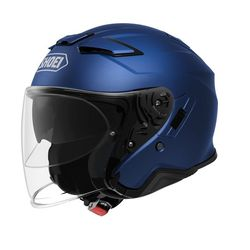 SHOEI - J-CRUISE II - BLUE MAT MET.
