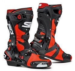 SIDI RACING - REX (CE), RED FLUO/BLACK