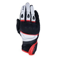 OXFORD - RP-3 2.0 SHORT SPORTS GLOVES BLACK - WHITE & RED