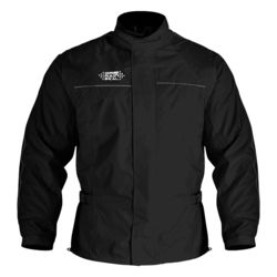 OXFORD - RAINSEAL OVER JACKET - BLACK