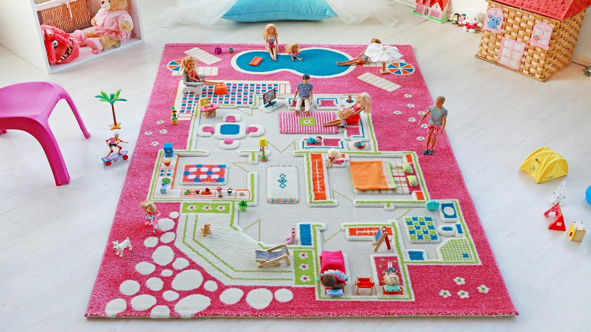 Covoare de Joaca 3D Casa Papusii