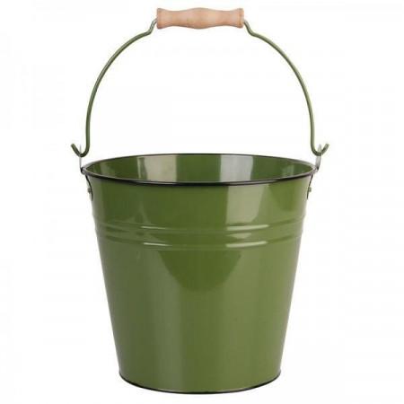 Galeata din metal verde