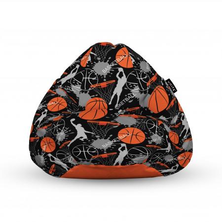 Fotoliu Units Puf (Bean Bags) tip para, impermeabil, cu maner, 100x80x70 cm, basket