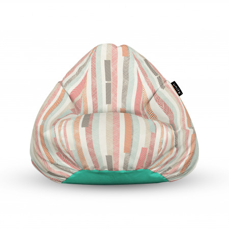 Fotoliu Units Puf (Bean Bags) tip para, impermeabil, cu maner, model multicolor vertical