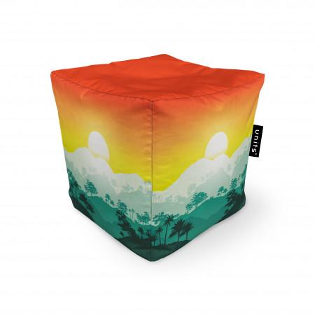 Fotoliu Units Puf (Bean Bags) tip cub, impermeabil, tropical