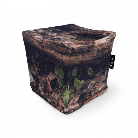 Fotoliu Units Puf (Bean Bags) tip cub, impermeabil, scoarta copac