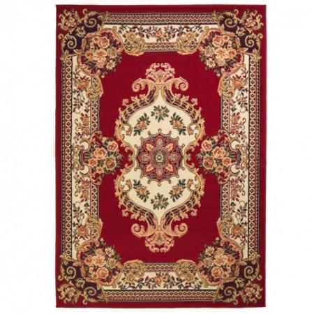 Covor persan, design oriental 180x280 cm Rosu/bej