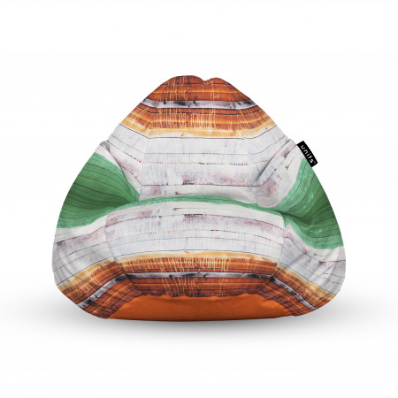 Fotoliu Units Puf (Bean Bags) tip para, impermeabil, cu maner, lemn vopsit