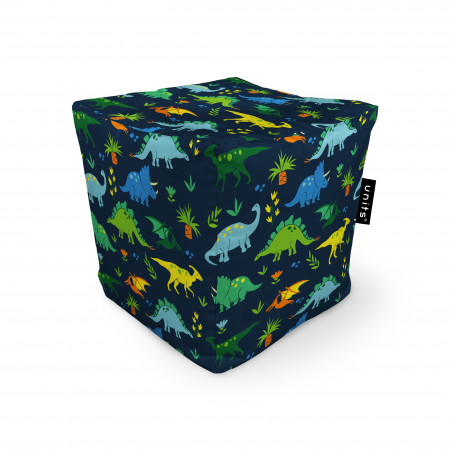Fotoliu Units Puf (Bean Bags) tip cub, impermeabil, dinozauri