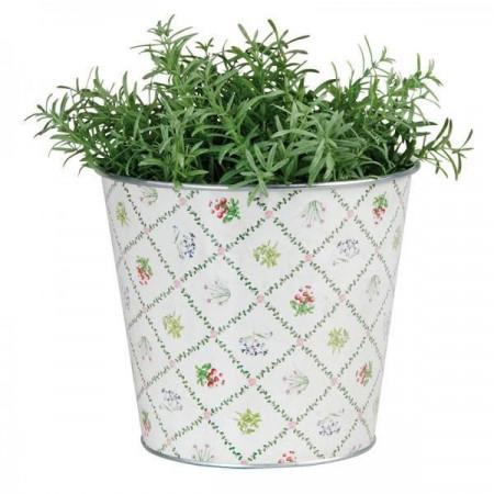 "Ghiveci plante aromatice din metal ""Botanicae"""