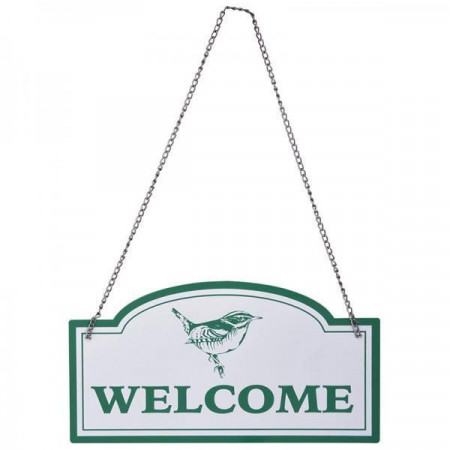 "Placuta de agatat pe usa ""Welcome"""
