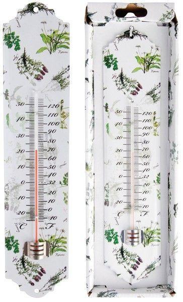 Termometru metalic model Plants