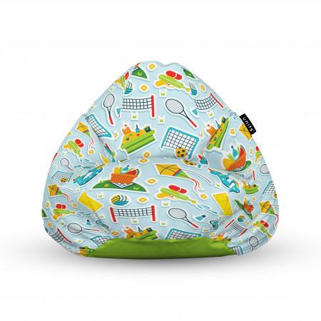 Fotoliu Units Puf (Bean Bags) tip para, impermeabil, cu maner, 100x80x70 cm, sporturi in aer liber