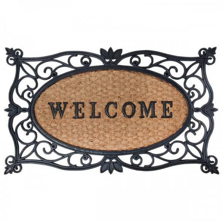 "Pres usa intrare ""Welcome"""