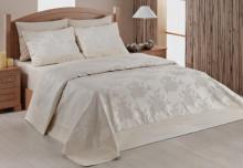Cuvertura de pat din bumbac 100% 260*260cm cu 2 fete de perna 50*70cm