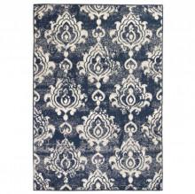 Covor modern Design Paisley 120 x 170 cm Bej/albastru