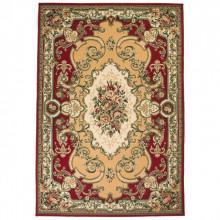 Covor oriental, rosu/bej, 120 x 170 cm