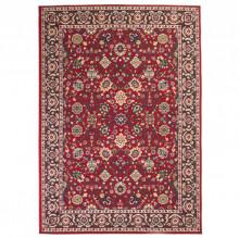Covor persan, design oriental, 120 x 170 cm, rosu/bej