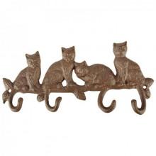 """Cuier cu 4 agatatori """"Pisici"""""""