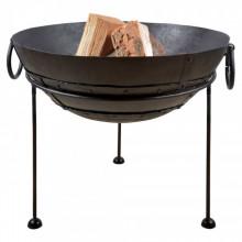 Esschert Design Bol pentru foc din metal reciclat, 61,2 cm, FF246