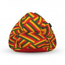 Fotoliu Units Puf (Bean Bags) tip para, impermeabil, cu maner, zion