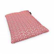Fotoliu Units Puf (Bean Bags) tip perna, impermeabil, model rosu si alb